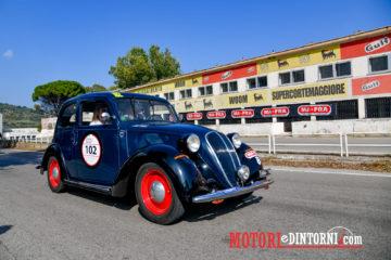 La Targa Florio Classica vinta da Mario Passanante omaggia lo scrittore siciliano Andrea Camilleri