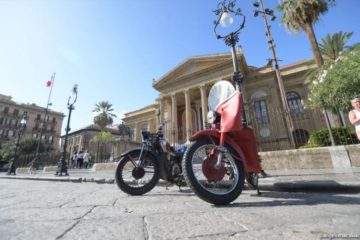 Sicilia, partito il 2°giro motociclistico di Sicilia