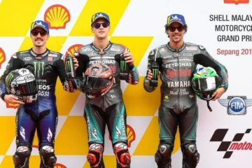 MotoGP, in Malesia Quartararo in pole, poi Vinales e Morbidelli.  Disastro Marquez
