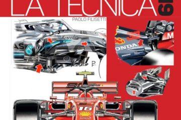 """""""Formula 1 2019 La Tecnica"""", il libro di Paolo Filisetti"""