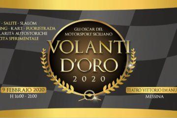 Volanti d'Oro 2020, a Messina gli Oscar del Motorsport Siciliano
