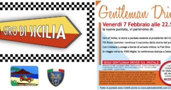 Automobilismo, questa sera in tv la storia del Giro di Sicilia