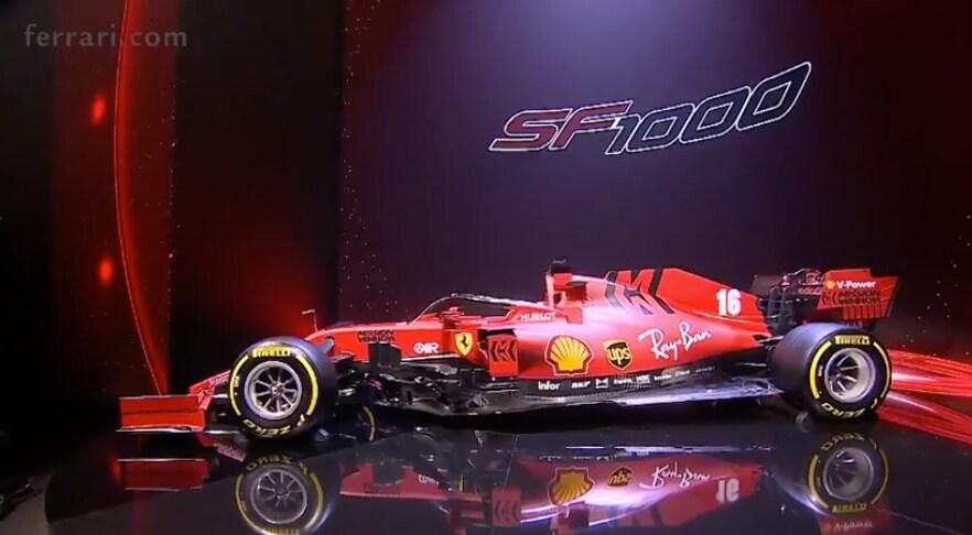 Ecco la SF1000, la monoposto Ferrari del 2020