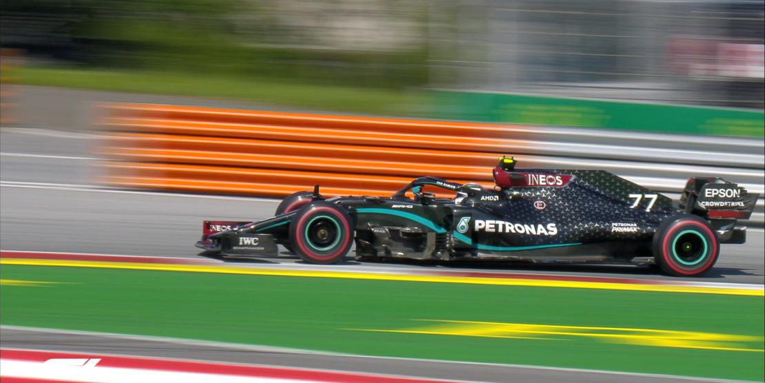"""F1 2020: """"Dove eravano rimasti"""", prima fila tutta Mercedes in Austria. Male la Ferrari"""