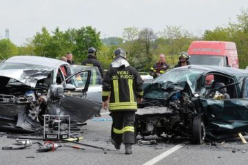 Incidenti stradali, mai così basso il numero delle vittime in dieci anni