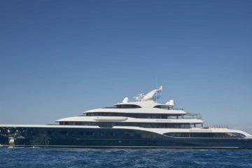 """Alle Egadi c'è """"Symphony"""", uno degli yacht più grandi al mondo"""