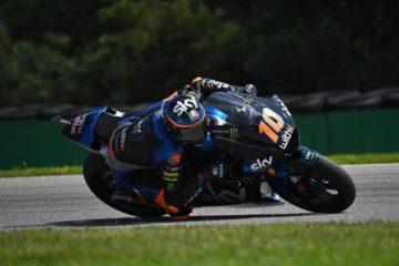 Moto2. Spaventoso incidente al via, vince Martin e Marini si prende la testa del mondiale.