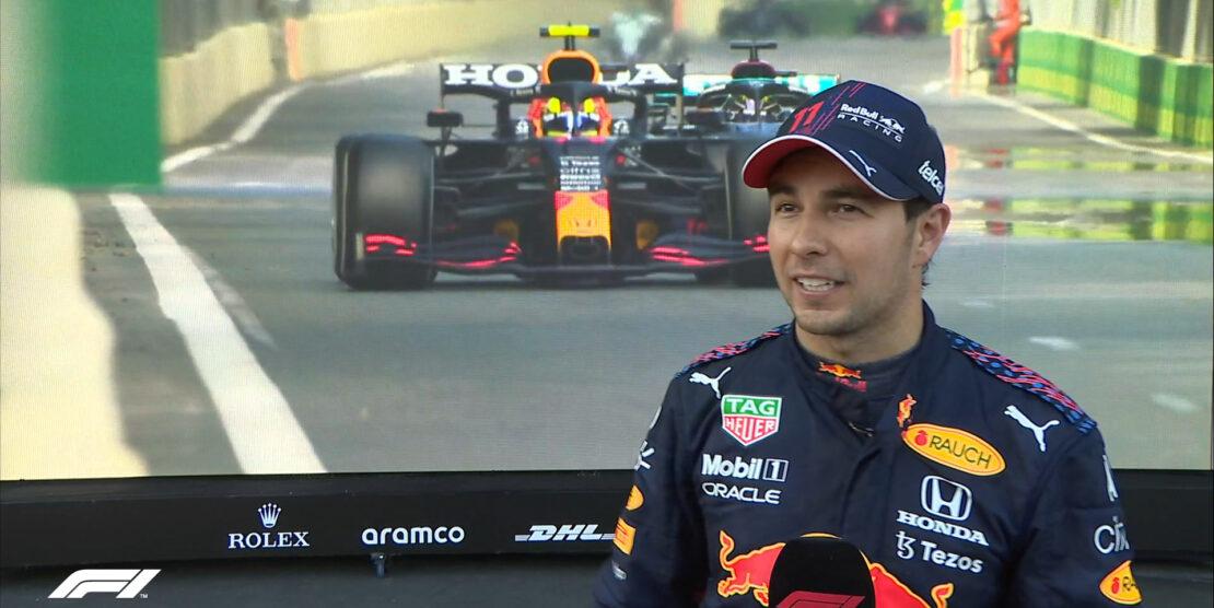 Sergio Perez vince il pazzo GP di Baku. Disastro Verstappen, errore per Hamilton