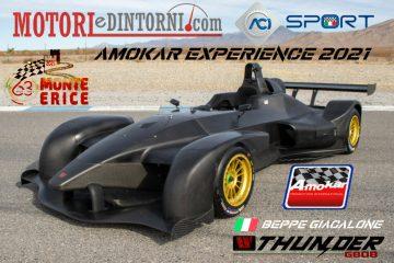 63^ Monterice, Beppe Giacalone in gara con la Wolf Thunder GB08