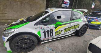 63^ Monterice, Beppe Giacalone primo nella classe A3000 su Peugeot 208 R5