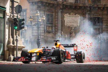 Lo spot della Red Bull per le strade di Palermo: un viaggio mai visto prima
