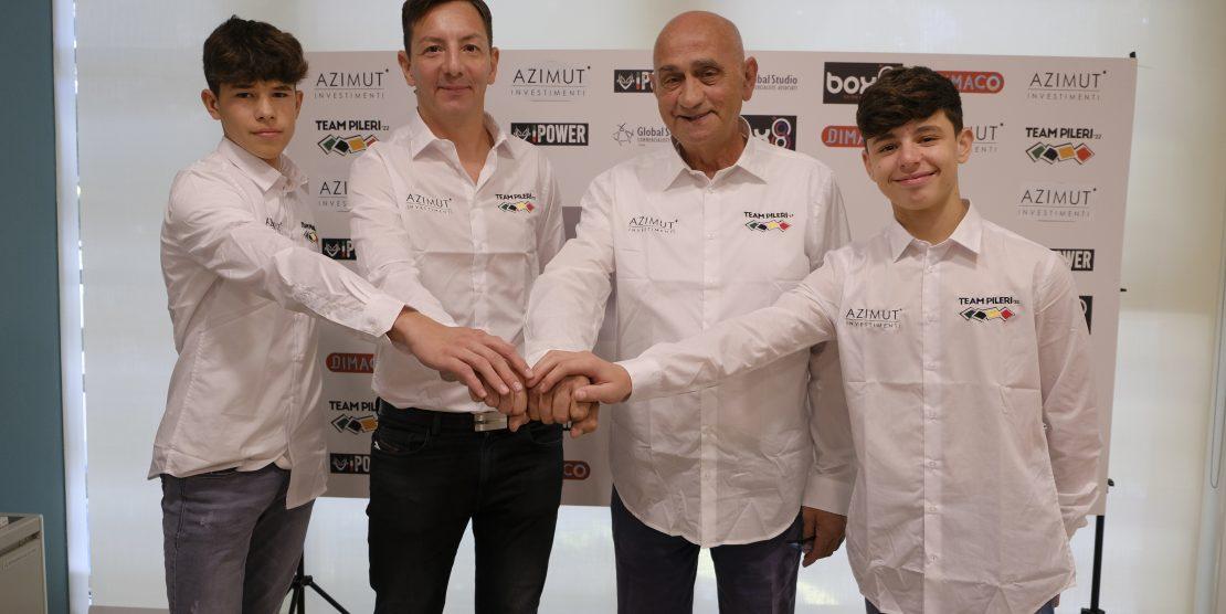 Motociclismo, presentato il Team Azimut Pileri per l'European Talent Cup 2022